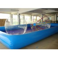 Wholesale Custom Durable Backyard Inflatable Water Ball Pool Square / Round Shape For Kids Play from china suppliers