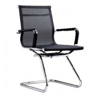 Wholesale Black Fabric Office Computer Chair For Tall People , Chromed Base DX-C619 from china suppliers