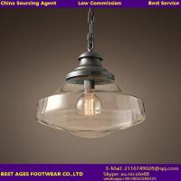 Wholesale Glass Shade Chandelier Lighting For Kitchen Loft Bedroom Office from china suppliers