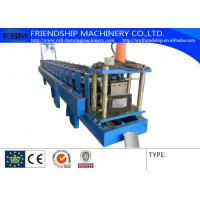 Wholesale 0.4-0.8mm Thickness Color Aluminum Half Round Gutter Roll Forming Machine from china suppliers