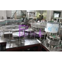 Quality Polygon Pure Water Filling Machine With Streamline Dial Wheel And Low Gravity for sale