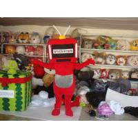 Wholesale customized plush full-body cartoon character advertising mascot costumes from china suppliers
