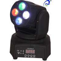 Wholesale Mini Moving Head Wash Beam Effect  4pcs 4 in1 10W RGBW Light Stage Lighting from china suppliers