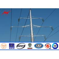 Wholesale 15M Octagonal Electric Insulators Distribution Poles For 132KV Electrical Power from china suppliers