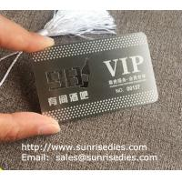 Customized metal business cards print etched metal cards