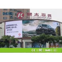 Quality P10 Outdoor Full Color Led Display , Light Wight Advertising Led Display Screen for sale
