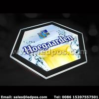 Wholesale Hoegaarden Beer Light Box Illuminated Bottle Sign from china suppliers