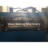 Wholesale 1220mm Width Corrugated Roll Forming Machine With Touch Screen 4kw Cutter Power from china suppliers
