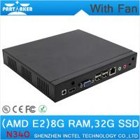 Wholesale Mini PC Desktop PC with fan 1.7Ghz CPU RJ45 HDMI VGA COM 8G RAM 32G SSD wifi support from china suppliers