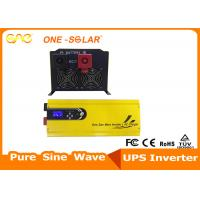 Quality 6000W 48vdc 220vac Low frequency pure sine wave solar inverter 630*280*200mm for sale