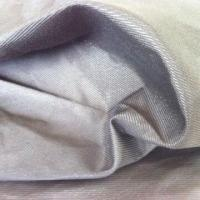 Metallic Fabric, N/C, Serge Twill Weaving with 75Dx32S+40D+me Construction