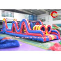 Wholesale Giant Interactive Military Boot Inflatable Obstacle Course Rental Adults from china suppliers