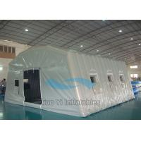 Wholesale Lightweight Large Airtight Inflatable Tents For Emergency / Army / Medical from china suppliers