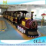 Wholesale Hansel amusement park rides rides fiberglass electric trackless diesel amusement park electric trains from china suppliers