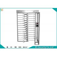 Wholesale High Security Full Height Turnstiles  Indoor Outdoor Electric  For Hotel from china suppliers