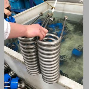 China Air Cooler Condenser 50 M3 / H Titanium Coil For Aquarium on sale