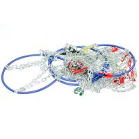 Wholesale 9mm D Type Tire Snow Chains Snow Chains For Cars , Corrosion - Resistant from china suppliers