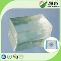Buy cheap Fabric Block Industrial Hot Melt Glue , Colorless Transparent Hot Glue Adhesive from wholesalers