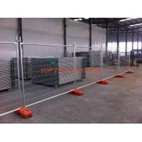 Wholesale Cheap Temporary Fencing panels same with TEMP FENCE SHOP panels OD 32 x 1.40mm 3.00mm wire diameter and recycle foot from china suppliers