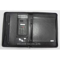 Wholesale A4 File Folder, file pocket, Made of Leather, Includes Item Calendar, Card Holder from china suppliers