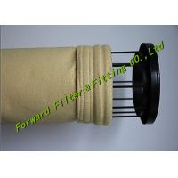 Wholesale White / Yellow Color Pe Filter Bag Treatment Flue Gas And Dust Particles from china suppliers