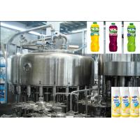 Wholesale Rotary Multi-Head fruit juice drink hot filling machine Juice Filling Line from china suppliers