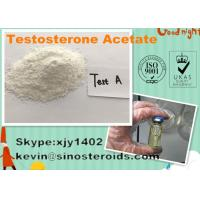 Wholesale White Raw Testosterone Enanthate Powder Testosterone Acetate Steroid for Bodybuilding from china suppliers