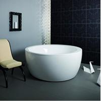 Wholesale Eco - friendly Freestanding Round Tub / Deep Bathtubs For Small Bathrooms from china suppliers
