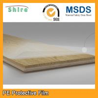 China Heavy Duty Hard Floor Protection Film Roll 25M X 500MM Easy Peel Off on sale