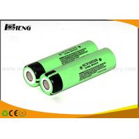 Buy cheap Panasonic NCR18650B lithium ion rechargeable batteries for e cig , CE & RoHS from wholesalers