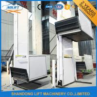 Wholesale Electric Vertical Wheelchair Platform Lift with Inching Switch / Automatic Control Mode from china suppliers