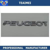 Wholesale ABS Plastic Car Letter Emblems 3M Adhesive Auto Body Letter Decoration Emblem Badge from china suppliers