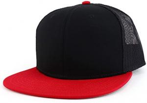Wholesale Gorras Sports 6 Panels Blank Plain Color Trucker Mesh Caps from china suppliers