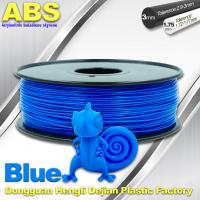 Wholesale 3D Printer Material Strength Blue Filament  , 1.75mm / 3.0mm ABS Filament Consumables from china suppliers