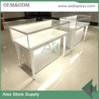 Quality Jewelry store design glass display jewelry with LED jewelry shop showcase for sale for sale