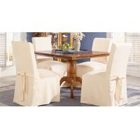 Wholesale 100% cotton hotel banquet restaurant chair cover from china suppliers