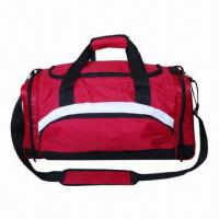Wholesale Duffel Bag with Detachable and Adjustable Shoulder Straps, Independent Shoe Pocket at One Side  from china suppliers