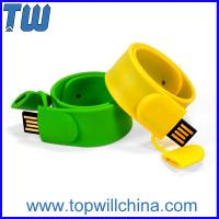 Wholesale Silicone Wristband 2GB USB Flash Drive Children's Day Gift Logo Printing from china suppliers