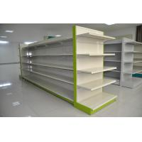 Wholesale Indoor Metallic Supermarket Display Racks Light Duty 50kg - 100kg Capacity from china suppliers