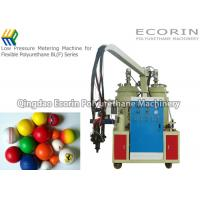 Quality Fully Automatic Polyurethane Foam Machine For Golf Ball  Alarm Function for sale