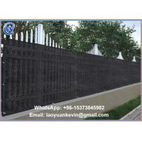 Wholesale High quality HDPE balcony blind fence blind, View balcony blind from china suppliers