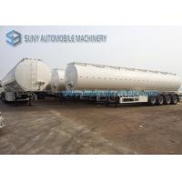 Quality Transportation 60000L Fuel Tank Semi Trailer 4 Axle Trailer 14500*2500*3950mm for sale