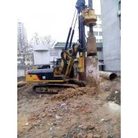 Wholesale KR90C Rotary Drilling Rig With Cat Chassis , 72 M / Min Main Winch Line Speed from china suppliers