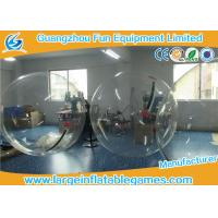 Wholesale Transparent Inflatable Walk On Water Bubble Ball For Summer Water Game from china suppliers