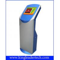 "Wholesale 17"",19""Ticket scanning touch screen kiosks with 45 degree angled-down barcode scanner from china suppliers"