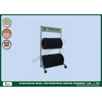 Wholesale Two layers wall mount tire storage rack for trucks , industrial storage racking from china suppliers