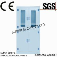 Wholesale Laboratory Medicine Medical Supply Storage Cabinet With Double Glass Door for Security from china suppliers