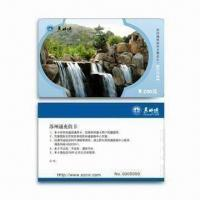 Wholesale Pre-printed PVC Card with Serial Number Thermal Printing and Double Side Lamination from china suppliers