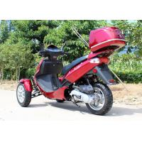 Quality Air Cooled 50cc Adult Tri Wheel Motorcycle Single Cylinder 4 Stroke With Rear Box for sale