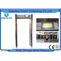 Quality Alarm Shock Door Frame Metal Detectors Walk Through Gate For Publich Security Inspection for sale